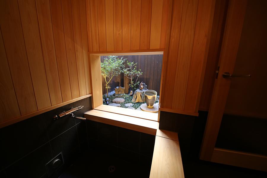 京町家旅館浴室